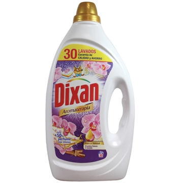 Dixan Gel Detergent 30 Dose 1,500 L Aromatherapy Sensual Freshness