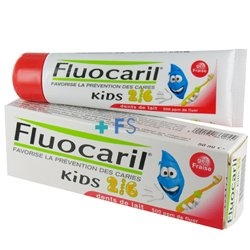 Fluocaril Toothpaste 50 ml Kids 2-6 Years Milk Teeth