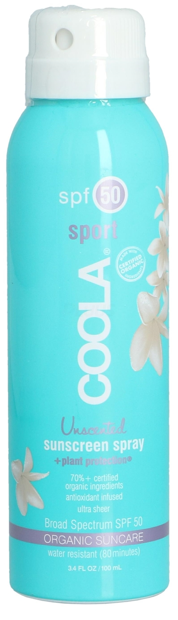 Coola Sport Sunscreen Spray SPF50 100ml
