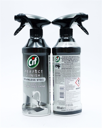 Cif Perfect Finish Stainless Steel Shine 435ml