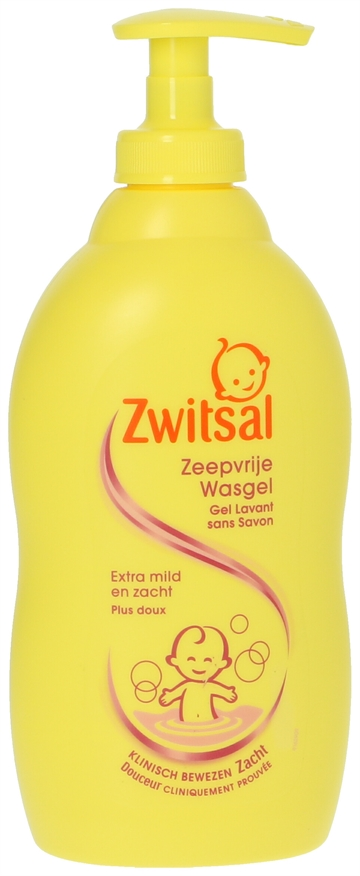 Zwitsal Shower Gel - Zeepvrije 400ml