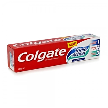 Colgate Toothpaste Triple Action Original Mint 100ml