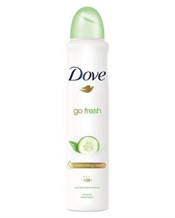 Dove Go Fresh Cucumber And Green Tea Anti-Perspirant Deodorant 250 ml