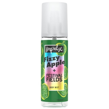 Impulse Body Mist Fizzy Apple & Festival 150ml