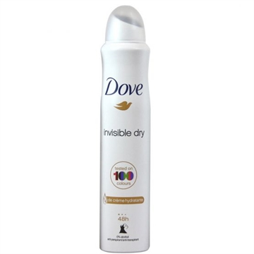 Dove Deodorant Spray 200 ml Invisible Dry