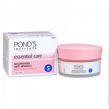 Ponds Cream 50 ml Esencial Anti Wrinkle Night & Day. Dry Skin