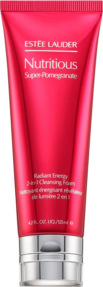 E.Lauder Nutritious Sup. Pom. Radiant Energy 125ml 2In1 Cleansing Foam