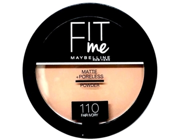 Maybelline Fit Me Powder 110 Fair Ivory 14g