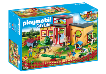 "Playmobil Dyrehotel ""Lille pote"" 9275"