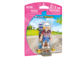 Playmobil Teenager med longboard 9338
