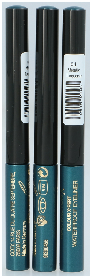 Max Factor Colour X-Pert Waterproof Eyeliner #04 Turquoise 1,7 ml