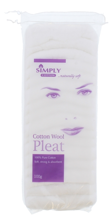 Simply Cotton 100G Cotton Pleat