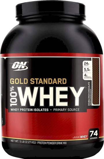 Optimum Nutrition 100 Whey Gold 2.27 kg double rich chocolate