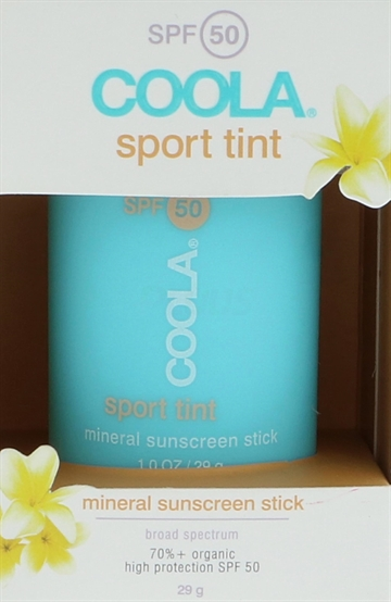 Coola Sport Tint Sunscreen Stick SPF50 29gr