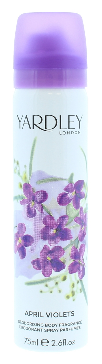 Yardley 75ml Body Spray April Violets