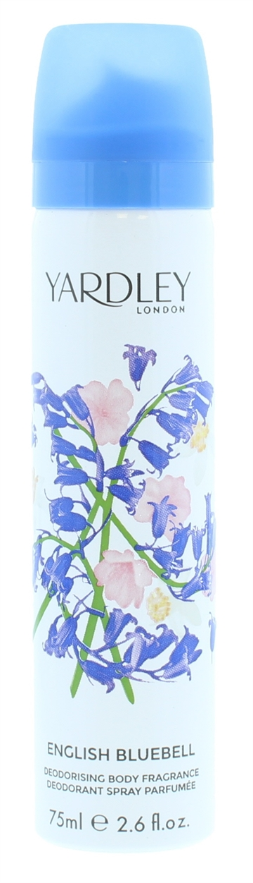 Yardley 75ml Body Spray English Bluebell