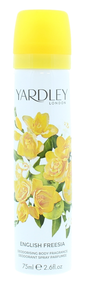 Yardley 75ml Body Spray English Freesia