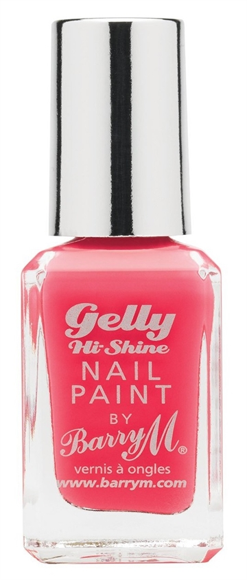 Barry M Gelly Hi Shine 10ml Nail Polish Grape Fruit