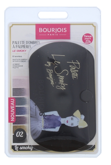 Bourjois Eyeshadow Palette Le Smoky 002 Blister Pack