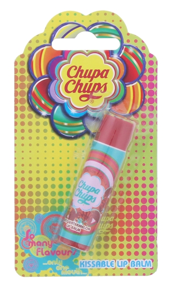 Chupa Chups 4G Lip Balm Juicy Watermelon