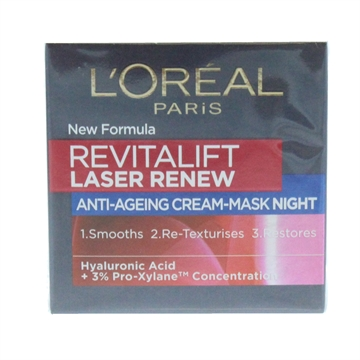 L'Oreal Revitalift 50ml Night Cream Laser Renew