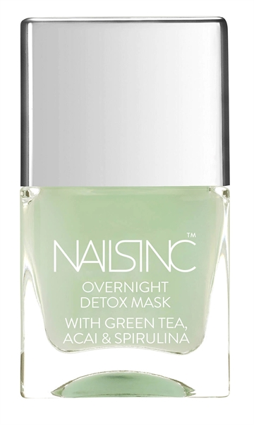 Nails Inc 14ml Treatment Overnight Detox Repair Mask