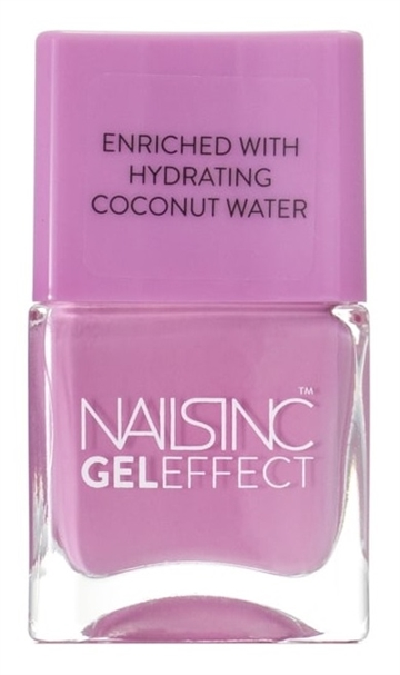 Nails Inc 14ml Nail Polish Gel Effect Soho Gardens
