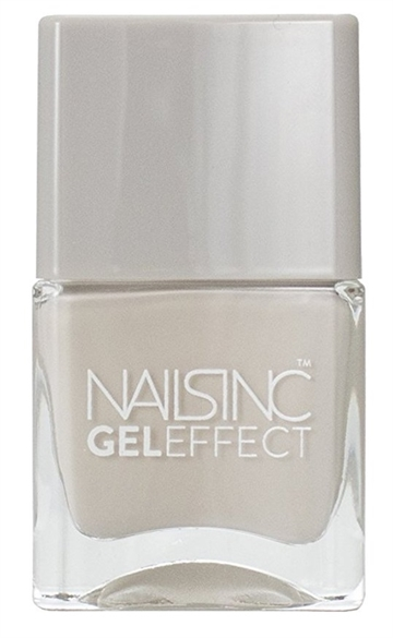 Nails Inc 14ml Nail Polish Gel Effect Green Park Mews