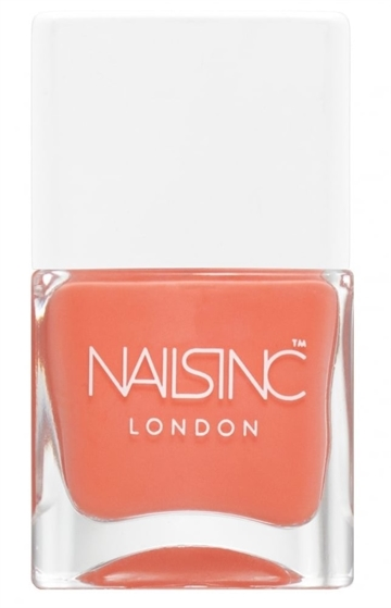 Nails Inc 14ml Nail Polish Coral Club
