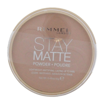 Rimmel Stay Matte Pressed Powder Compact Silky Beige 005
