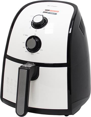 Clatronic FR 3667 H Hot air fryer 2,2 L Sort, Rustfrit stål Enkeltstående 1500 W