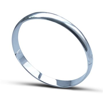 Everneed Sally O – bangle sølv