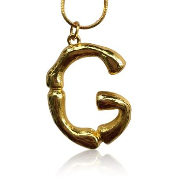 Everneed Bamboo Letters G – Guld