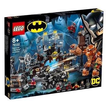 LEGO Super Heroes 76122 Clayface™-invasion af bathulen