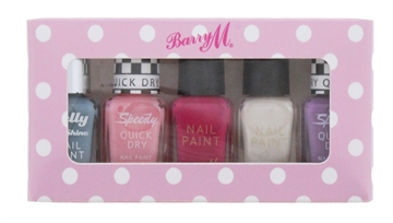 Barry M Nail Polish 5Pc Set