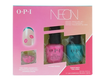 OPI Nail Polish 4Pc Neon Set