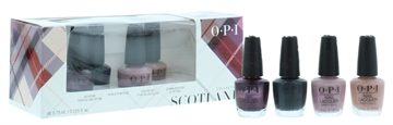 OPI Mini Nail Polish Set 4'S Scotland