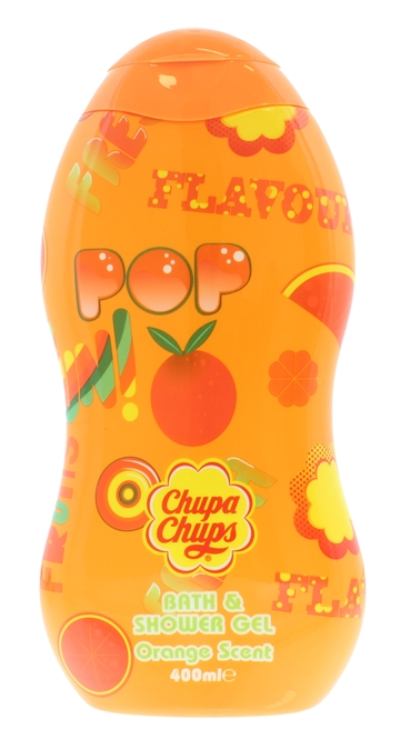 Chupa Chups 400ml Body Wash Orange