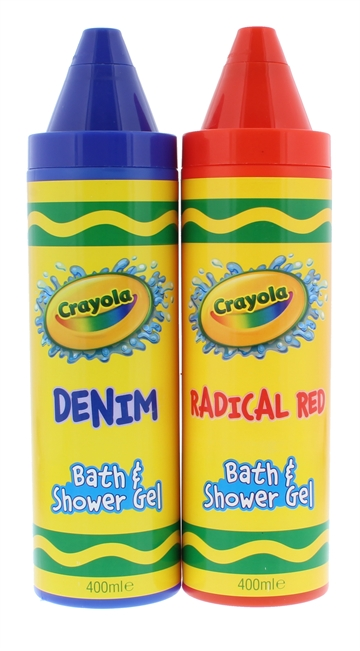 Crayola 400ml Body+Shower Gel Assorted