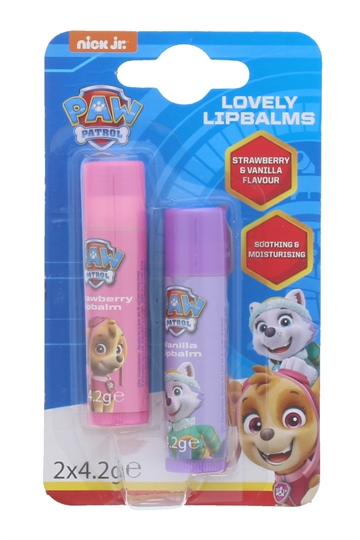 Paw Patrol Lip Balm Strawberry 2 Pack En;Es;Fr;De;Nl;It;Pt;Cz;Pl)