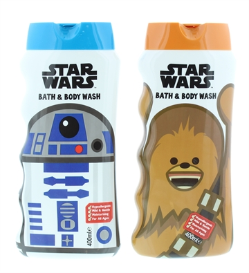 Star Wars 400ml Bath+Shower Gel New Assorted