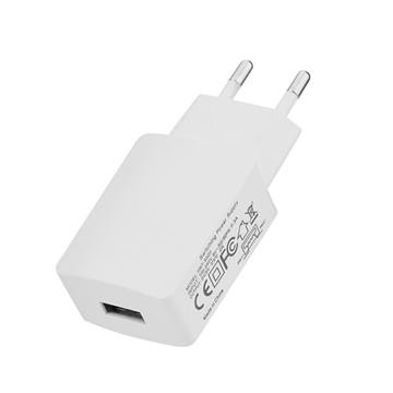 Iphone Oplader - 240V til 1 x USB lader