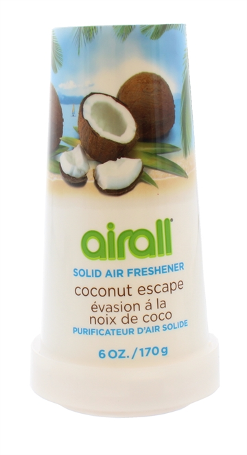 Airall 170G Air Freshener Solid Coconut Escape