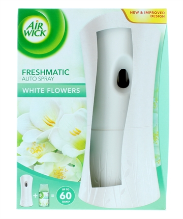 Airwick Freshmatic Set 2Pc White Flowers