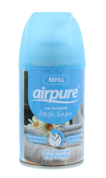 Airpure 250ml Air-O-Matic Refill Fresh Linen