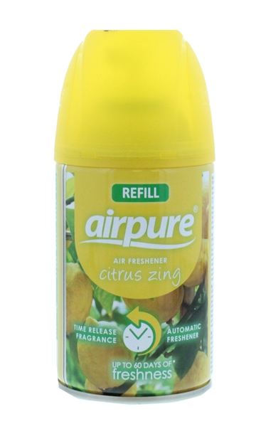 Airpure 250ml Air-O-Matic Refill Citrus Zing