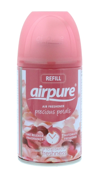 Airpure 250ml Air-O-Matic Refill Precious Petals