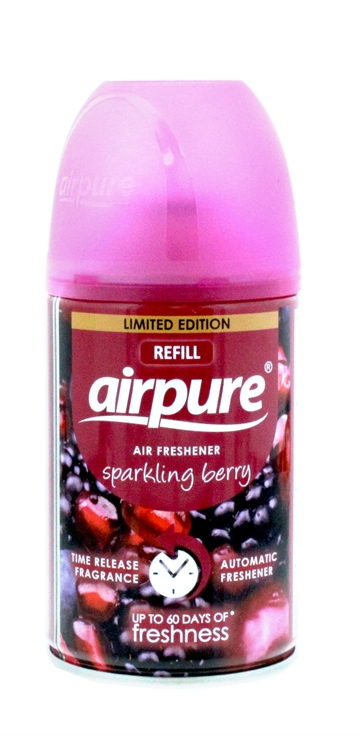 Airpure 250ml Air-O-Matic Refill Sparkling Berry
