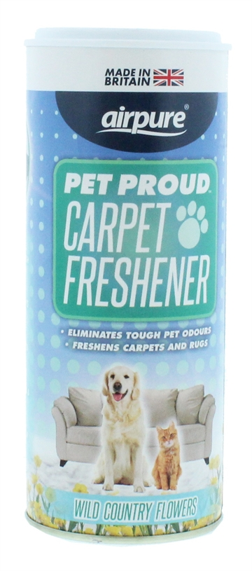 Airpure Pet Proud 350G Carpet Fresh Wild Flowers