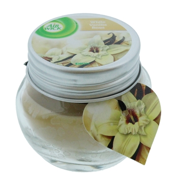 Airwick 30G Candle White Vanilla Bean